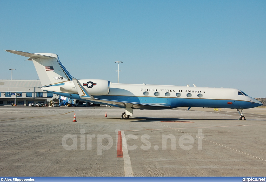 01-0076, Gulfstream V, United States Air Force