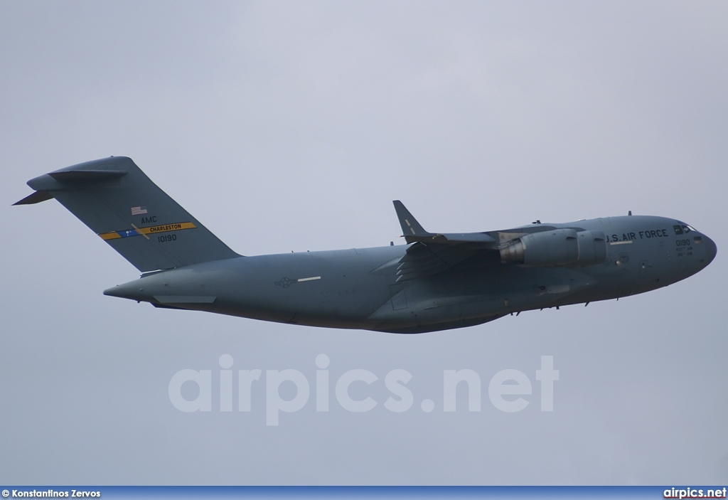 01-0190, Boeing C-17A Globemaster III, United States Air Force