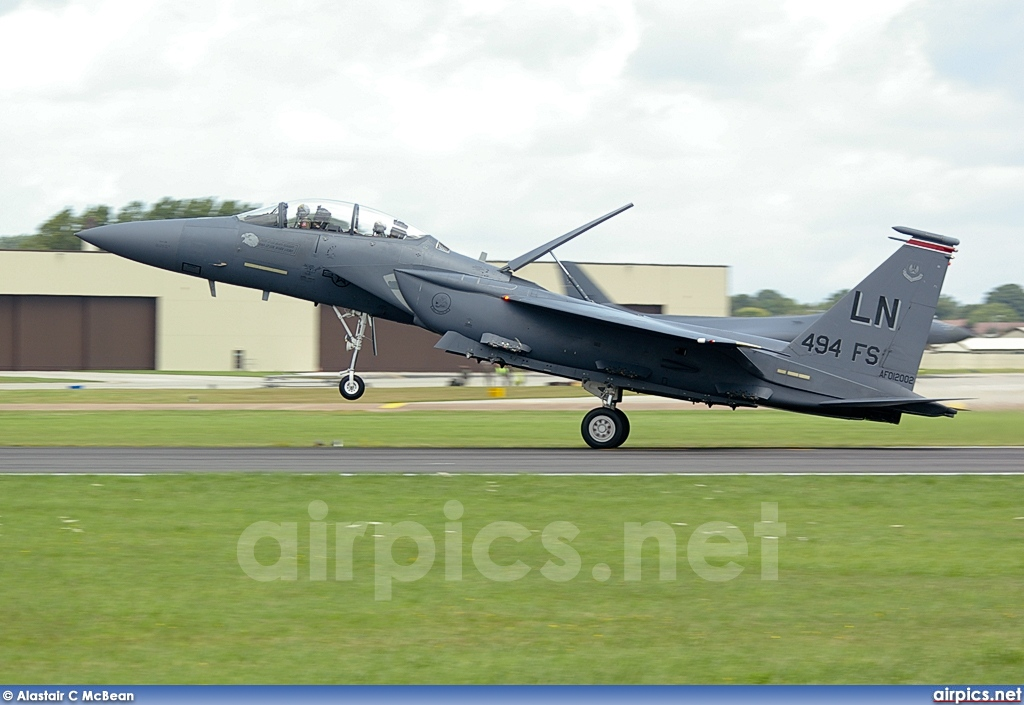 01-2002, Boeing (McDonnell Douglas) F-15E Strike Eagle, United States Air Force