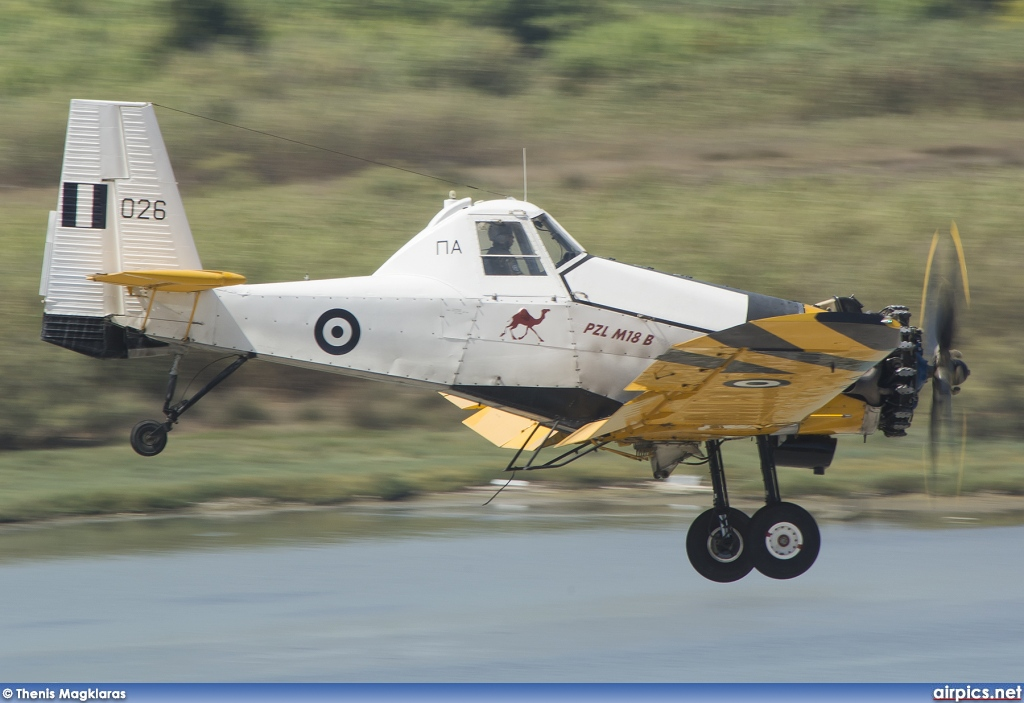 026, PZL-Mielec M-18-BS Dromader, Hellenic Air Force