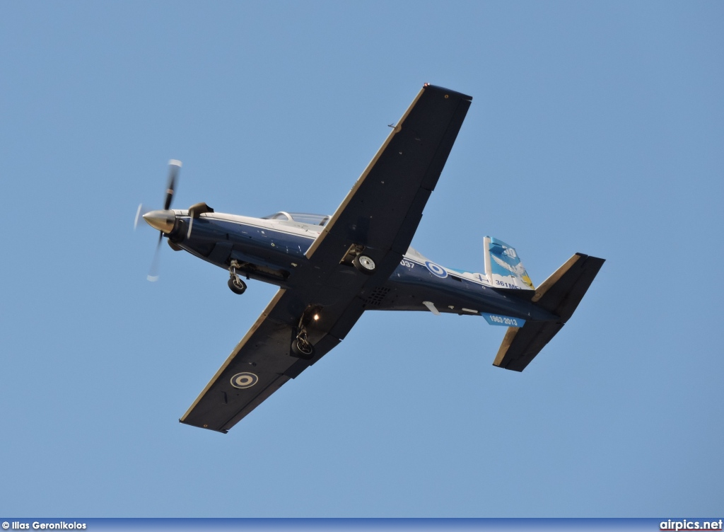 037, Beechcraft T-6A Texan II, Hellenic Air Force