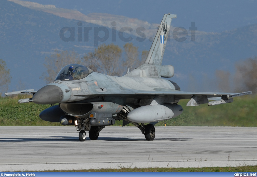 049, Lockheed F-16C Fighting Falcon, Hellenic Air Force