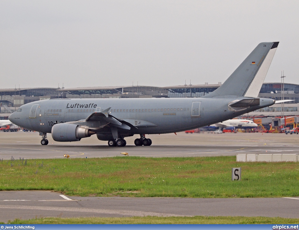 10-26, Airbus A310-300, German Air Force - Luftwaffe
