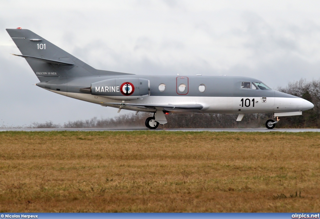 101, Dassault Falcon 10MER, French Navy - Aviation Navale