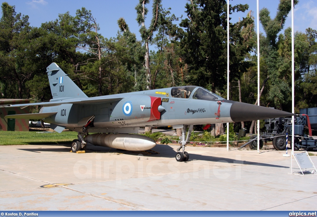 101, Dassault Mirage F.1CG, Hellenic Air Force