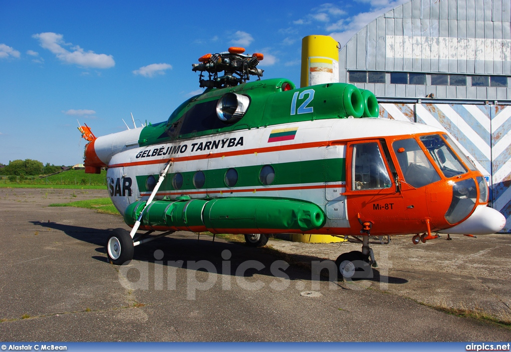 12, Mil Mi-8T, Lithuanian Air Force