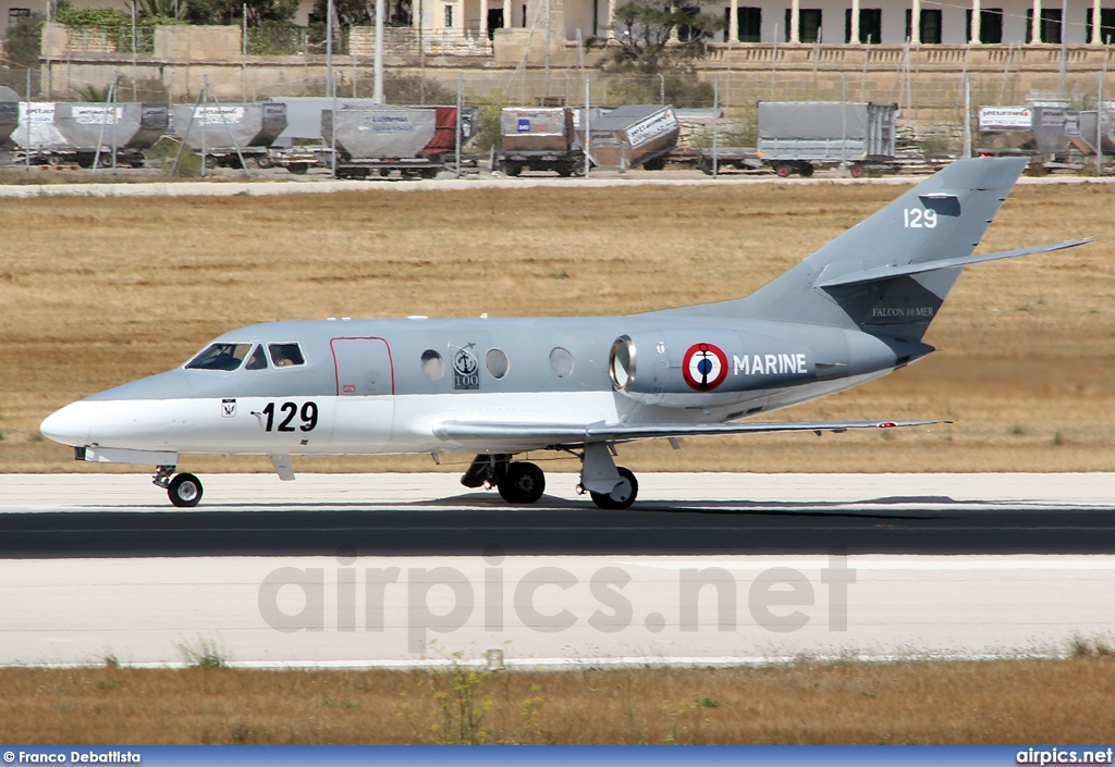 129, Dassault Falcon 10MER, French Navy - Aviation Navale