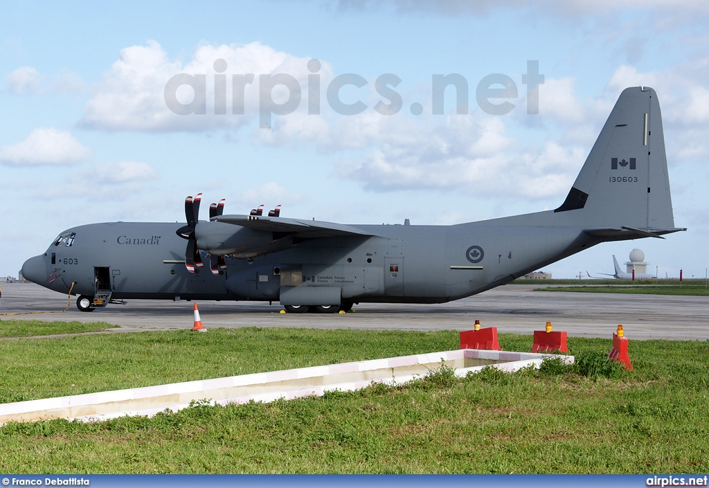 130603, Lockheed CC-130J-30 Hercules, Canadian Forces Air Command