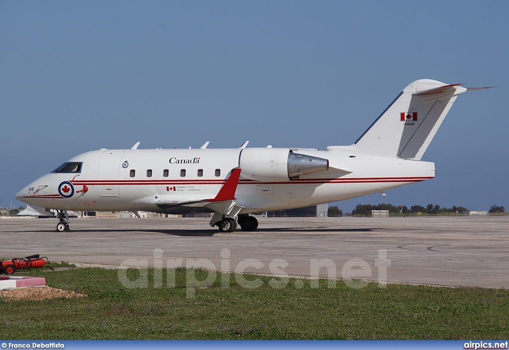 144618, Canadair CC-144B Challenger, Canadian Forces Air Command