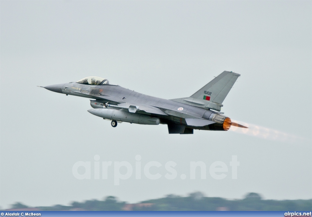 15102, Lockheed F-16AM Fighting Falcon, Portuguese Air Force
