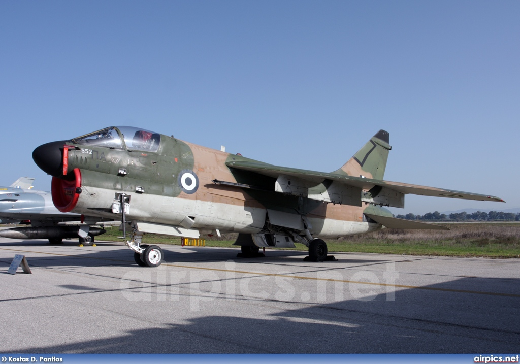 160552, Ling-Temco-Vought A-7E Corsair II, Hellenic Air Force