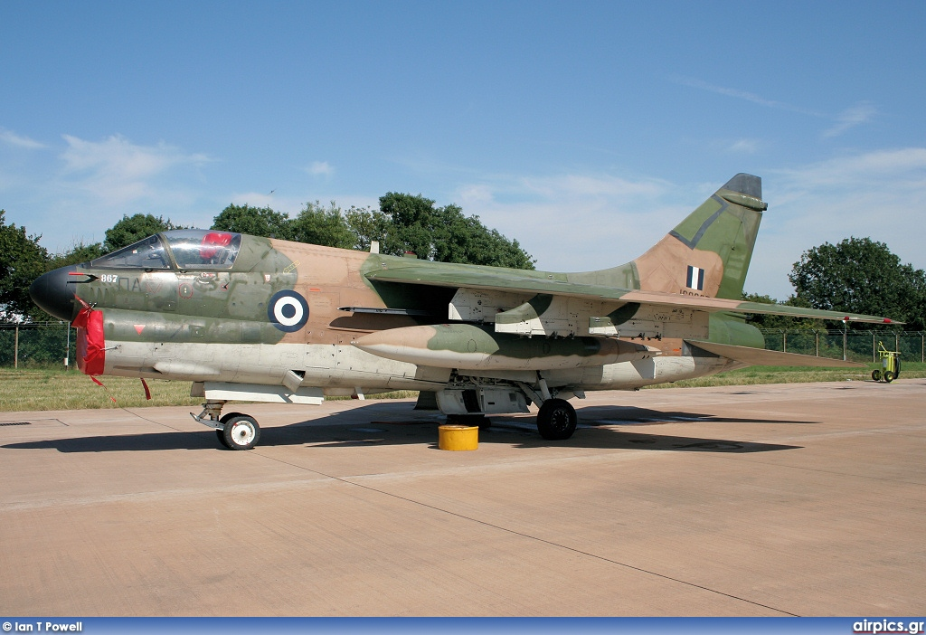 160867, Ling-Temco-Vought A-7E Corsair II, Hellenic Air Force