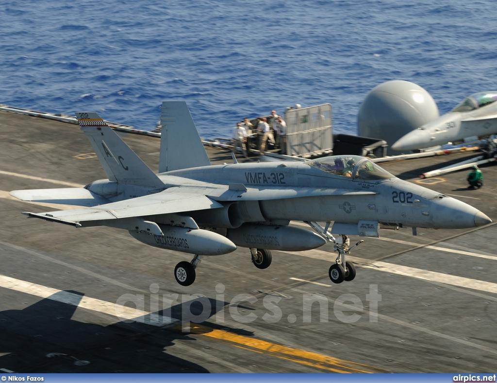 164909, Boeing (McDonnell Douglas) F/A-18C Hornet, United States Marine Corps