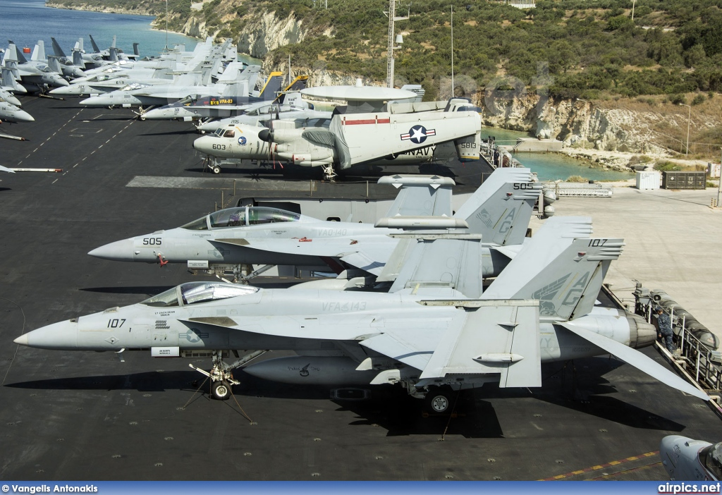 166607, Boeing (McDonnell Douglas) F/A-18E Super Hornet , United States Navy