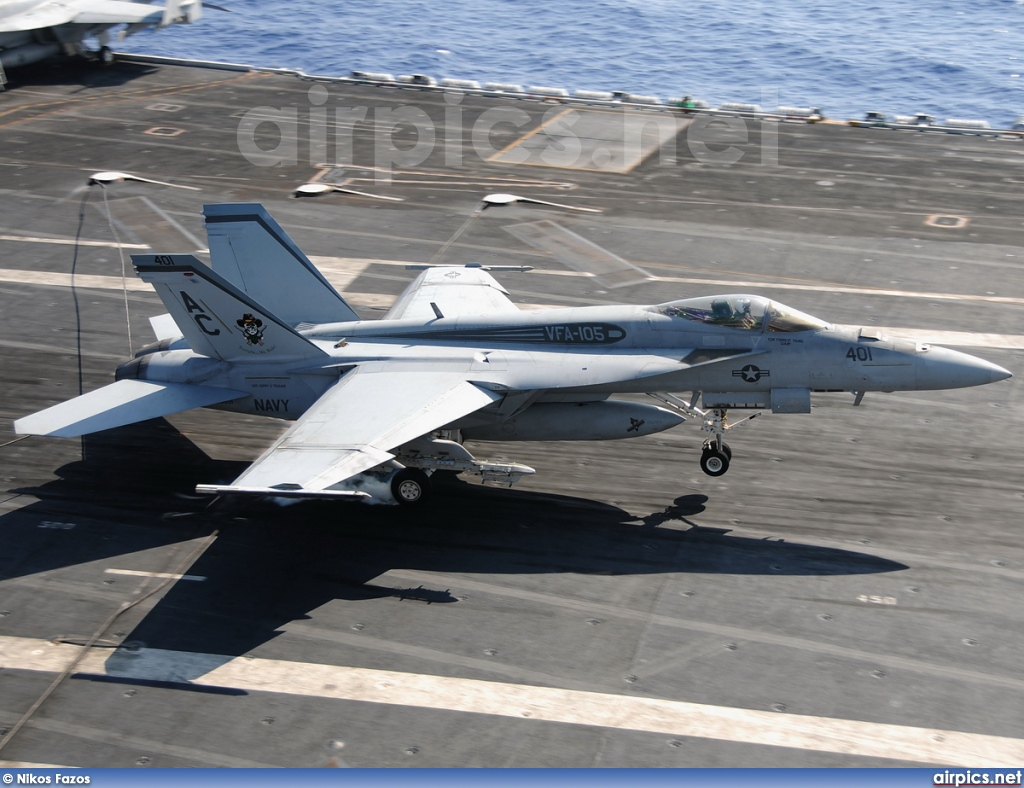 166651, Boeing (McDonnell Douglas) F/A-18E Super Hornet , United States Navy