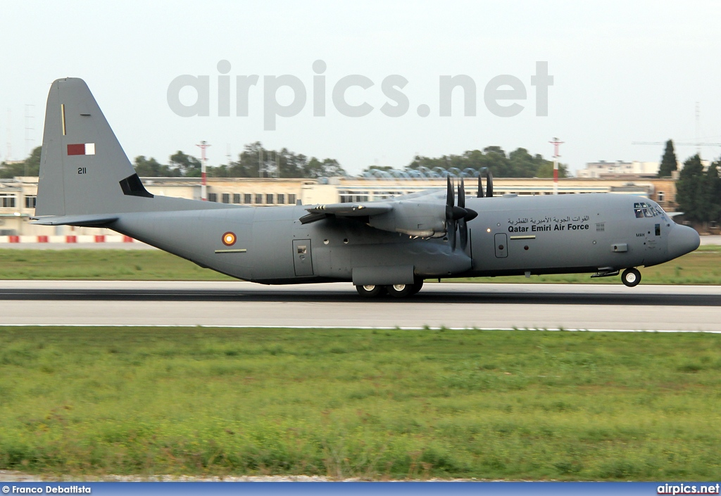 211, Lockheed C-130J-30 Hercules, Qatar Amiri Air Force