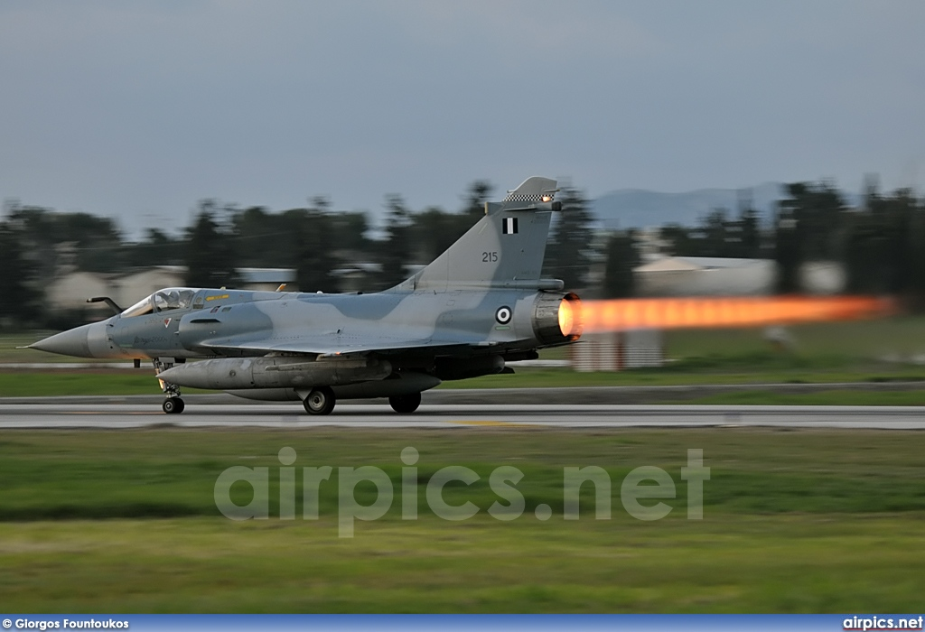 215, Dassault Mirage 2000-5EG, Hellenic Air Force