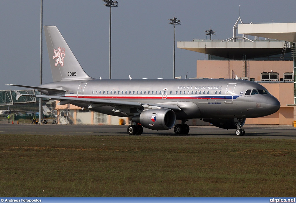 3085, Airbus A319-100CJ, Czech Air Force