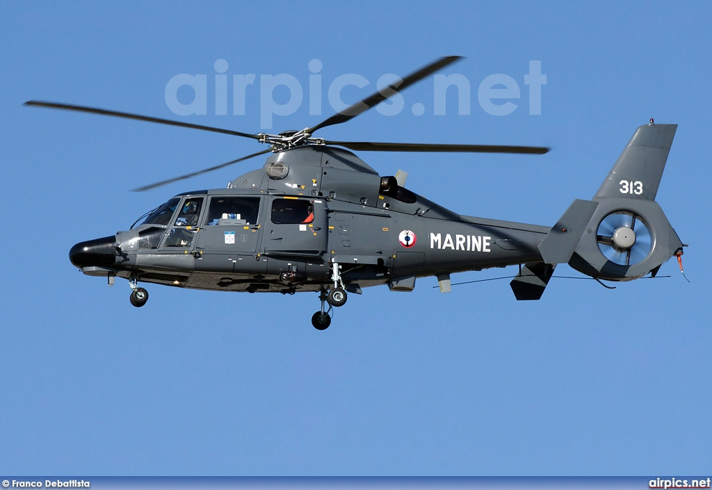 313, Aerospatiale (Eurocopter) AS 365-N2 Dauphin, French Navy - Aviation Navale