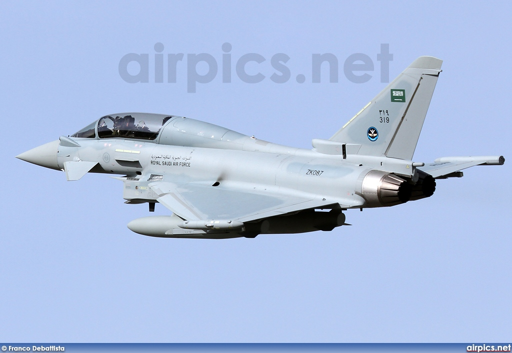 319, Eurofighter Typhoon T.3, Royal Saudi Air Force