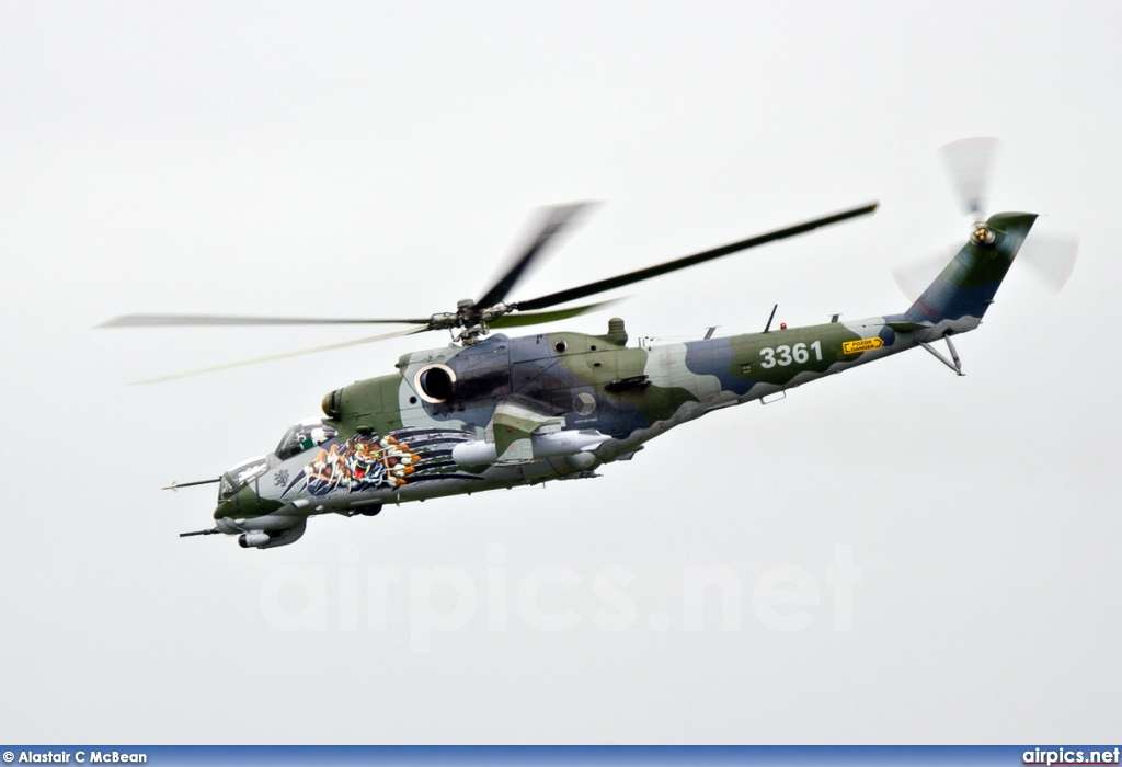 3361, Mil Mi-35, Czech Air Force