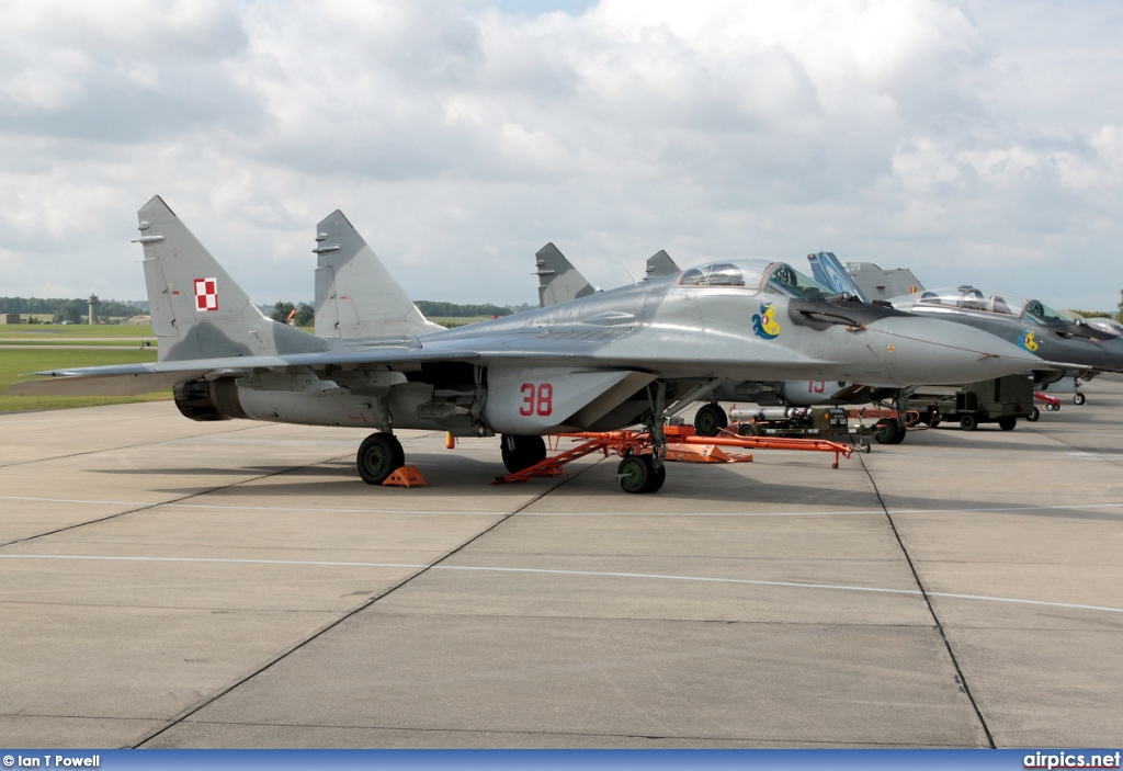 38, Mikoyan-Gurevich MiG-29A, Polish Air Force