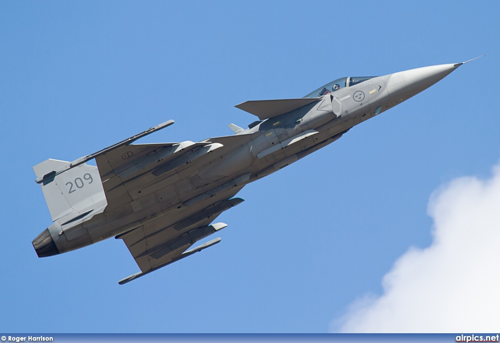39209, Saab JAS 39C Gripen, Swedish Air Force