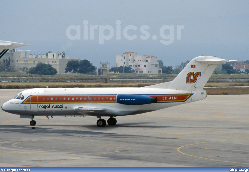 3D-ALN, Fokker F28-3000 Fellowship, Royal Swazi National Airlines