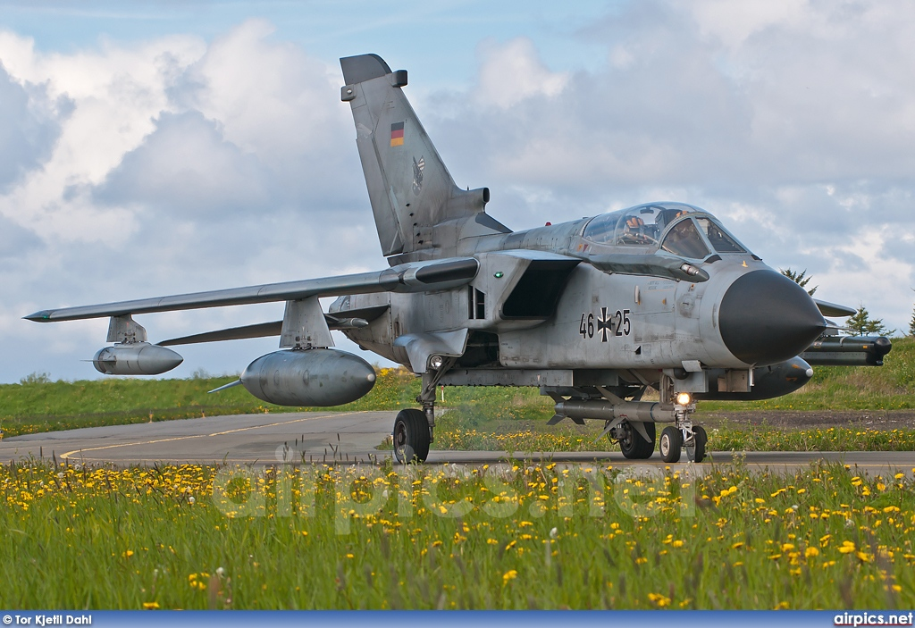 46-25, Panavia Tornado ECR, German Air Force - Luftwaffe