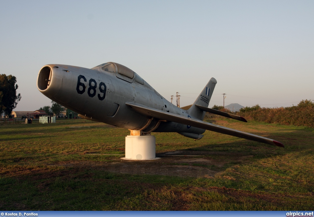53-6689, Republic F-84F Thunderstreak, Hellenic Air Force