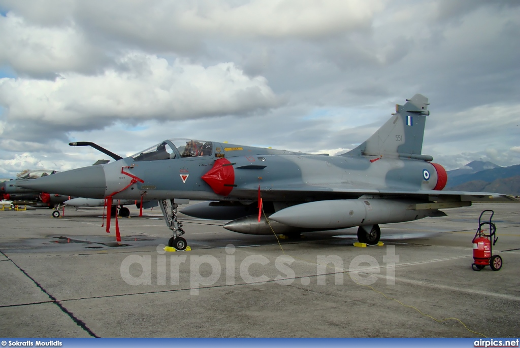 551, Dassault Mirage 2000-5EG, Hellenic Air Force