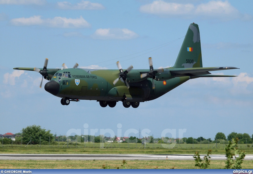 5930, Lockheed C-130B Hercules, Romanian Air Force
