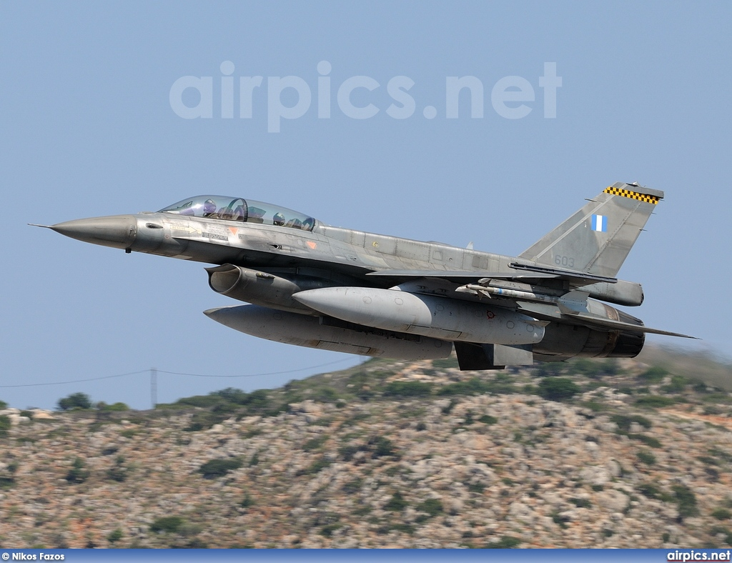 603, Lockheed F-16D Fighting Falcon, Hellenic Air Force