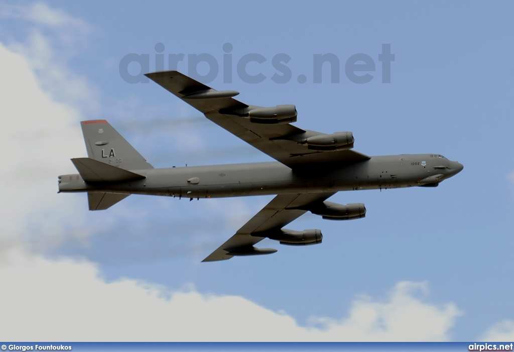 61-0002, Boeing B-52H Stratofortress, United States Air Force