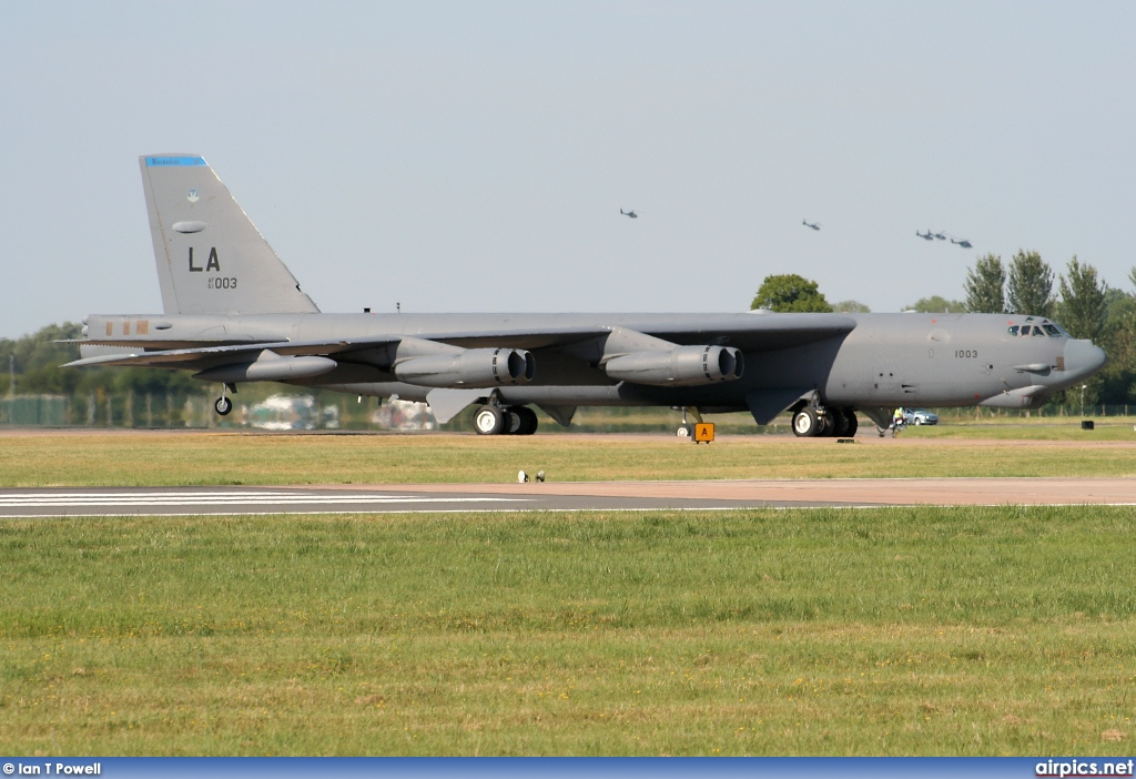 61-0013, Boeing B-52H Stratofortress, United States Air Force