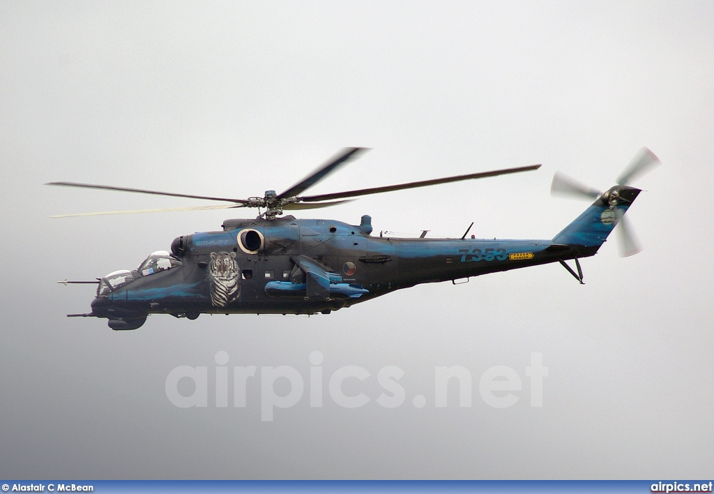 7353, Mil Mi-24V, Czech Air Force