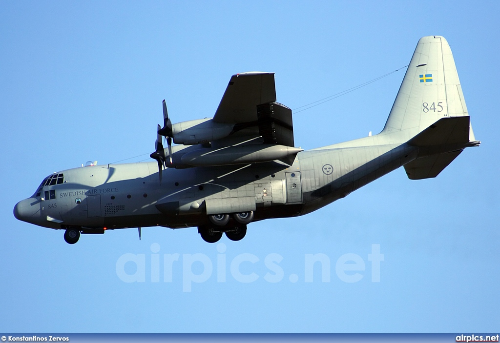 84005, Lockheed C-130H Hercules, Swedish Air Force
