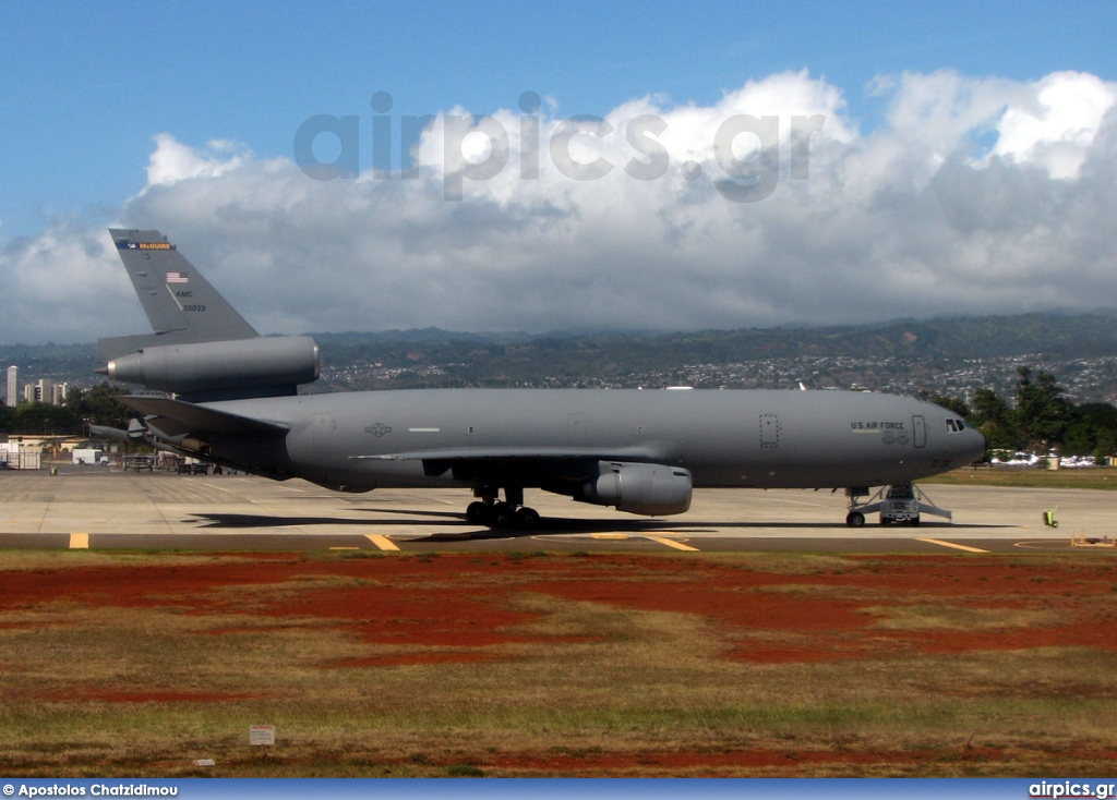 85-0033, McDonnell Douglas KC-10A, United States Air Force