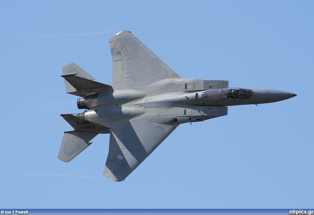 86-0167, Boeing (McDonnell Douglas) F-15C Eagle, United States Air Force