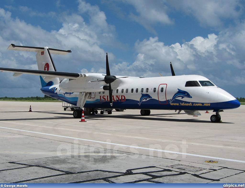 8Q-IAP, De Havilland Canada DHC-8-300 Dash 8, Island Aviation Services