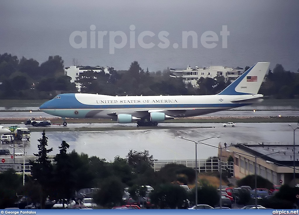 92-9000, Boeing VC-25A (747-200B), United States Air Force