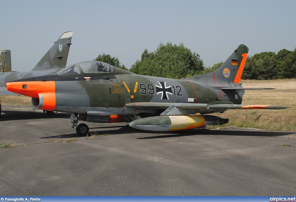 99-12, Fiat G.91R-3, German Air Force - Luftwaffe