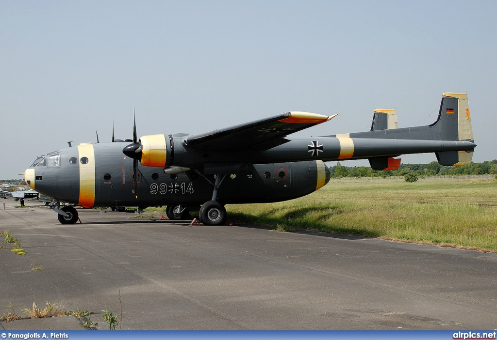 99-14, Nord 2501D Noratlas, German Air Force - Luftwaffe