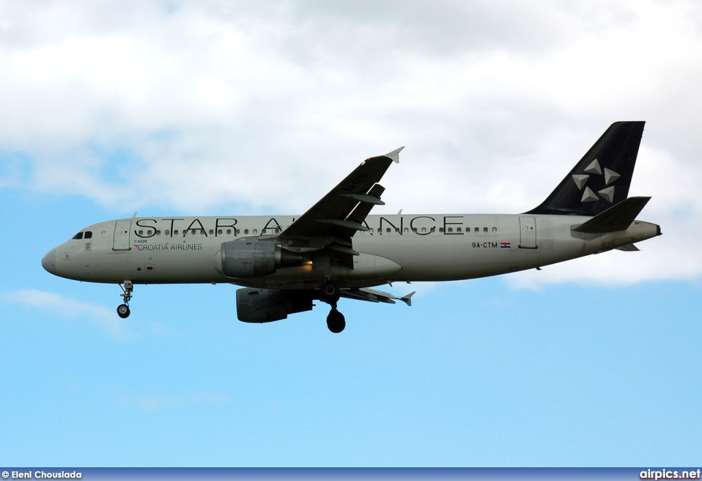 9A-CTM, Airbus A320-200, Croatia Airlines