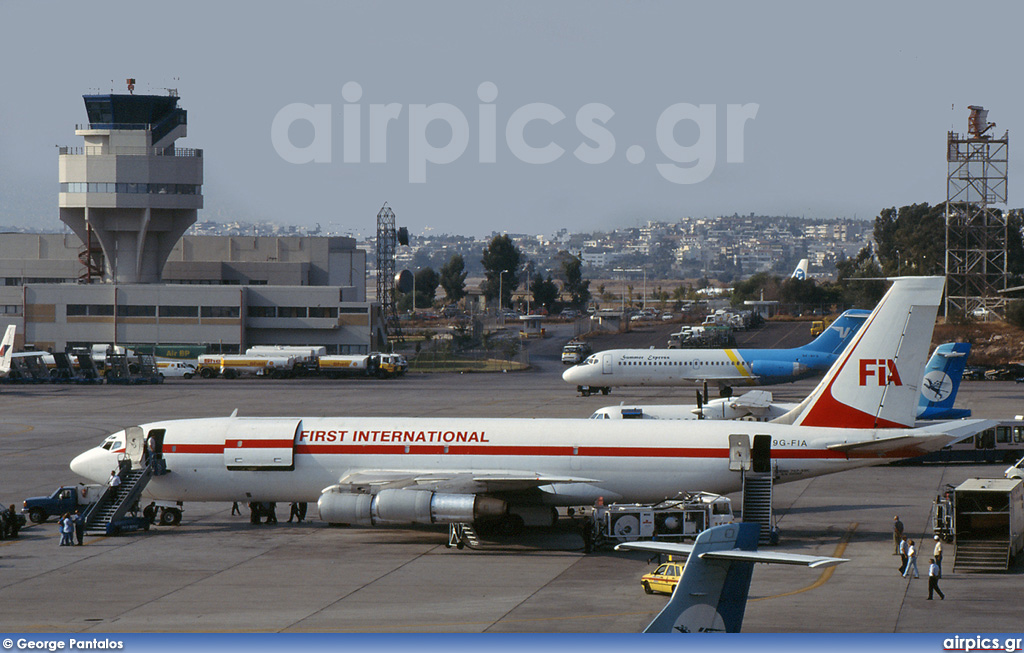 9G-FIA, Boeing 707-300C, First International Airways
