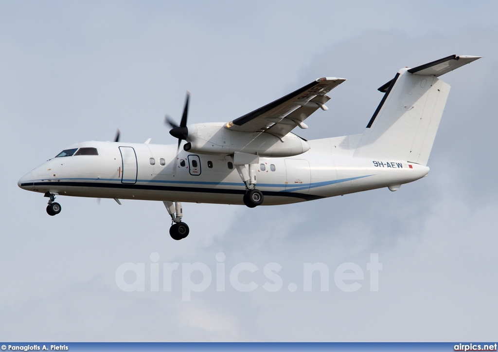 9H-AEW, De Havilland Canada DHC-8-100 Dash 8, Untitled
