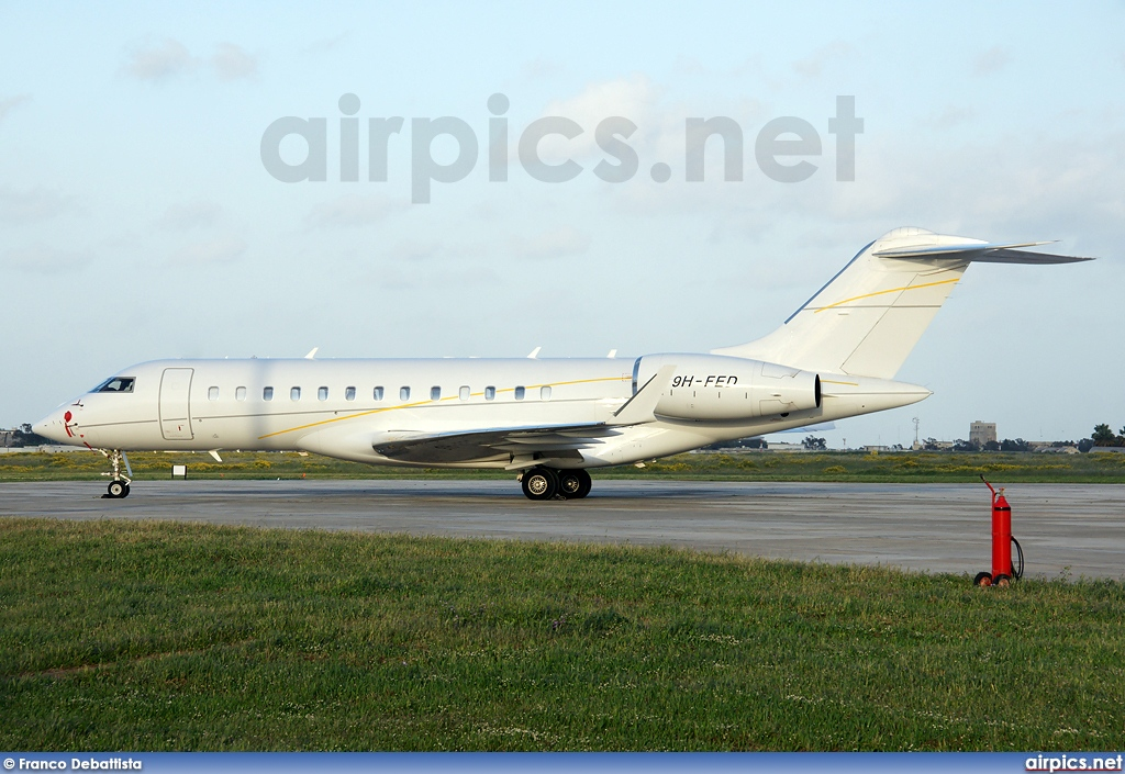9H-FED, Bombardier Global Express, Private
