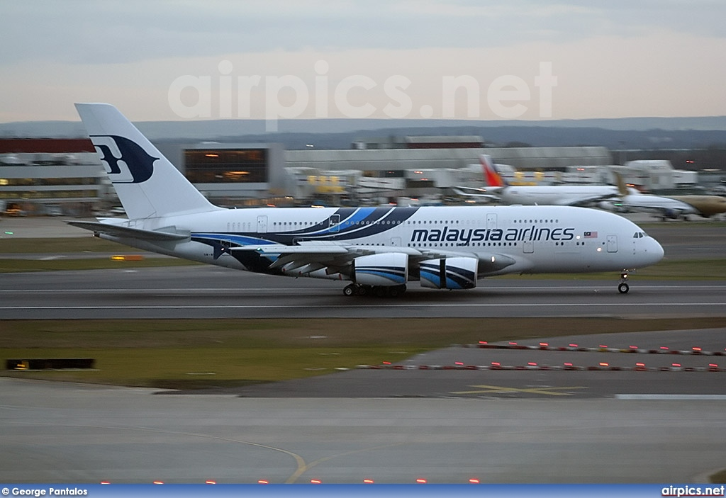 9M-MNA, Airbus A380-800, Malaysia Airlines