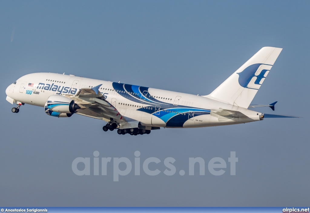 9M-MNF, Airbus A380-800, Malaysia Airlines