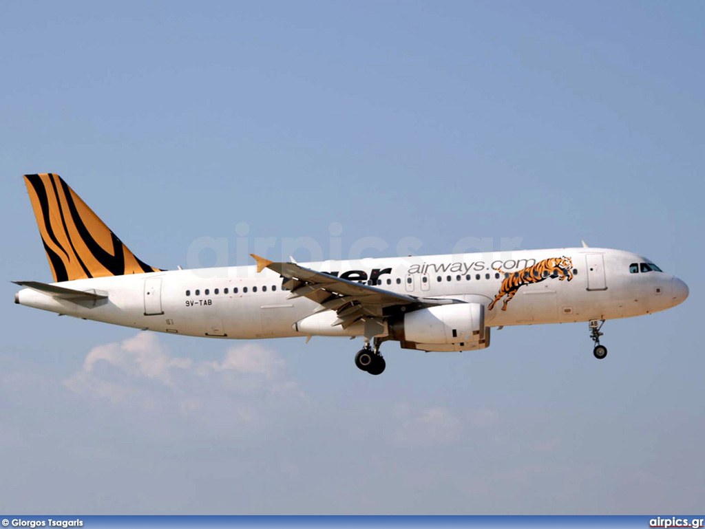 9V-TAB, Airbus A320-200, Tiger Airways